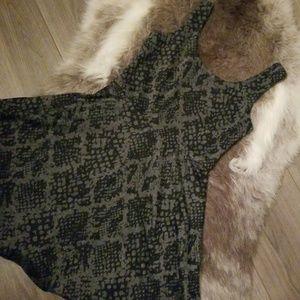 Black dress from Bloomingdale's